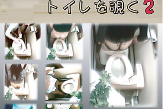ピンホールカメラでトイレを覗く 2