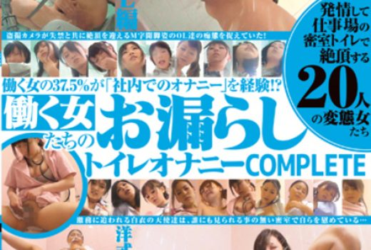 発情して仕事場の密室トイレで絶頂する20人の変態女たち 働く女たちのお漏らしトイレオナニー COMPLETE